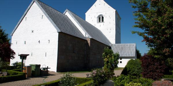 Torslev Kirke bagfra