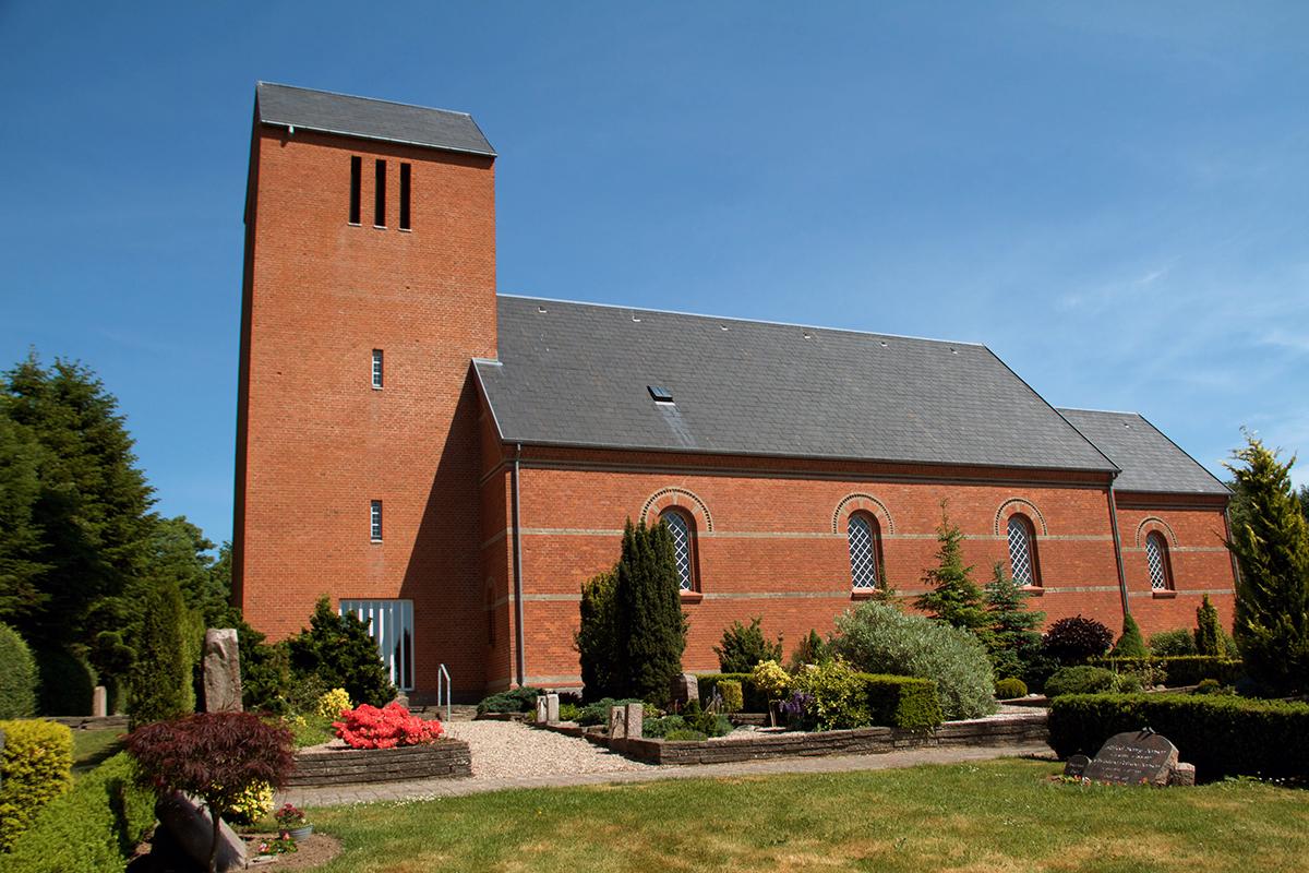 Torslev Kirke Østervrå Kirke Torslev sogn Østervrå sogn